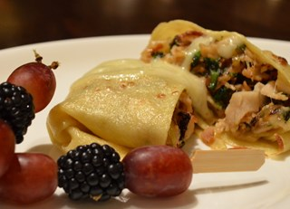 Little Tike Turkey & Veggie Crepes