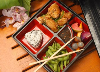 Big Island Chicken Wing Bento Box Lunch