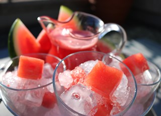 Vodka Spiked Watermelon Juice