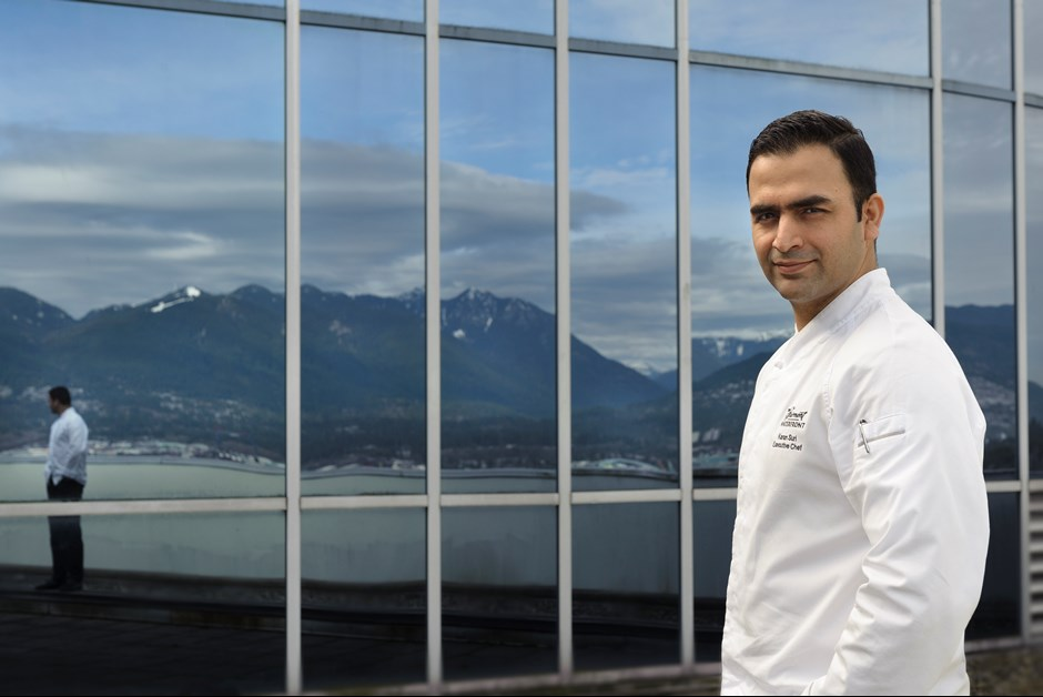 Executive Chef Karan Suri, Fairmont Waterfront