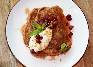 Sourdough Cranberry French Toast