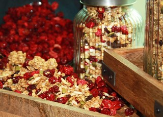 Cranberry Granola Clusters