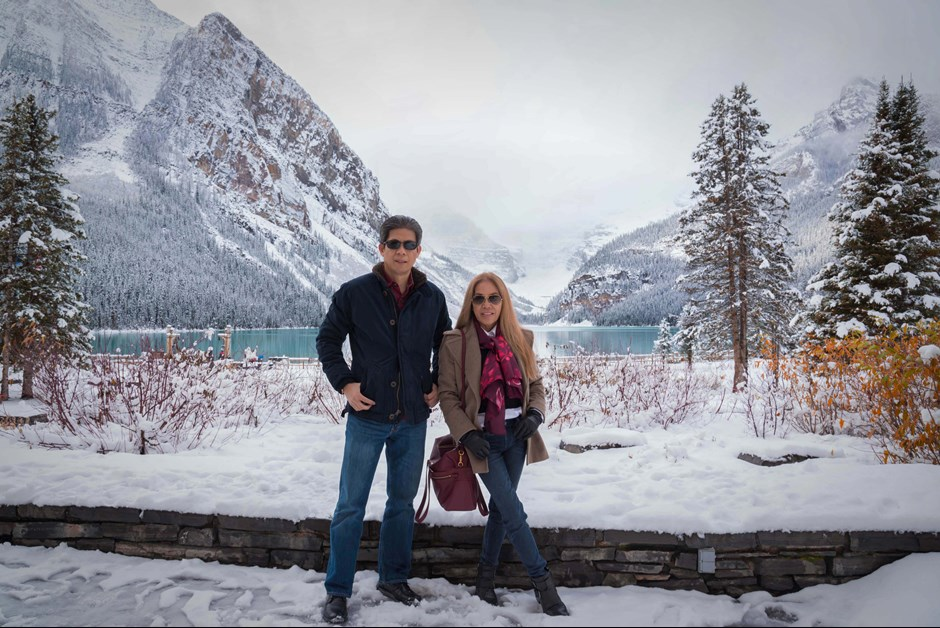 Picturesque Lake Louise