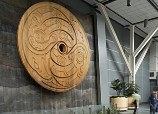 First Nations Art at Vancouver International Airport