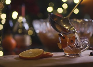Five Ingredient Holiday Punch