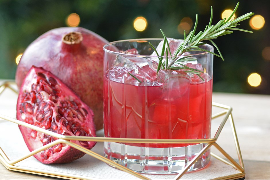 Winter Ruby Cocktail