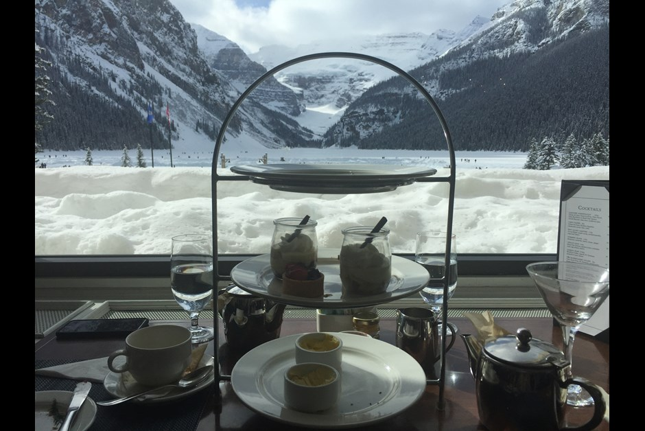 Afternoon Tea - Chateau Lake Louise