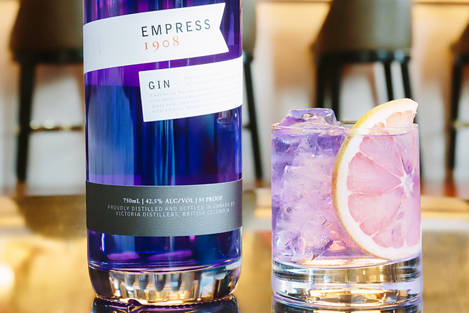 Live Colorfully Empress 1908 Gin Fairmont Moments