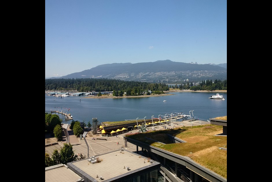 Spectacular views from Fairmont Pacific Rim
