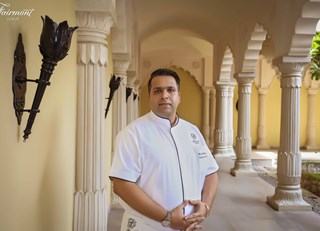 Prasad Metrani : New Executive Chef at Fairmont Jaipur, India!