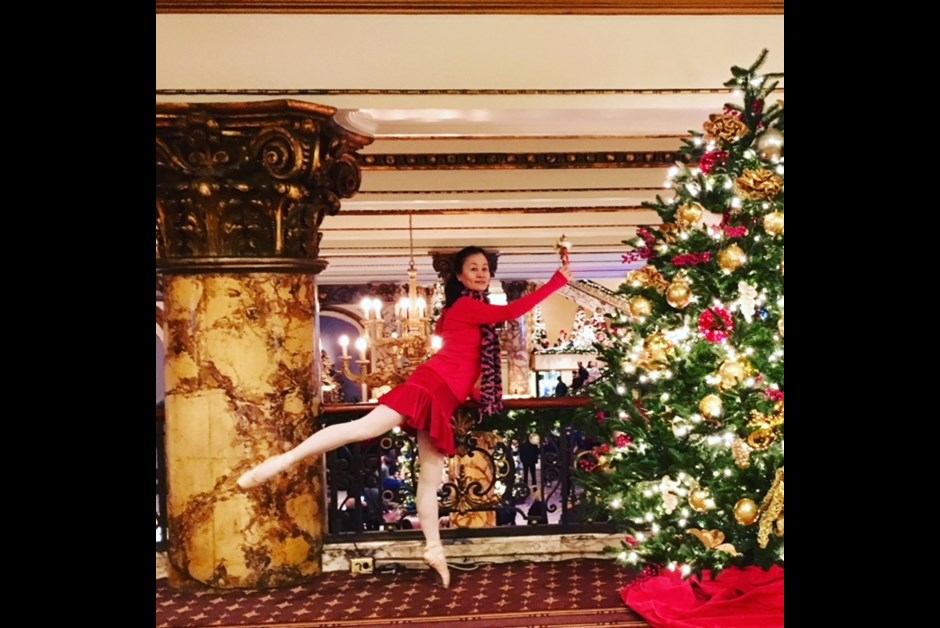 A remember-forever-and-ever Christmas vacation at the Fairmont, San Francisco