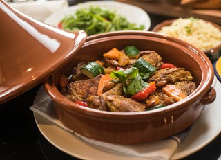 CHICKEN TAGINE at MEDITERRA RESTAURANT