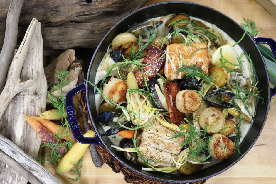 Pacific Seafood Stew